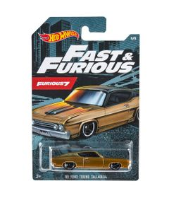 Mini-Veiculos---Hot-Wheels---Veiculos-Tematicos---Ford-Torino-Talladega---1969---Marrom---Mattel