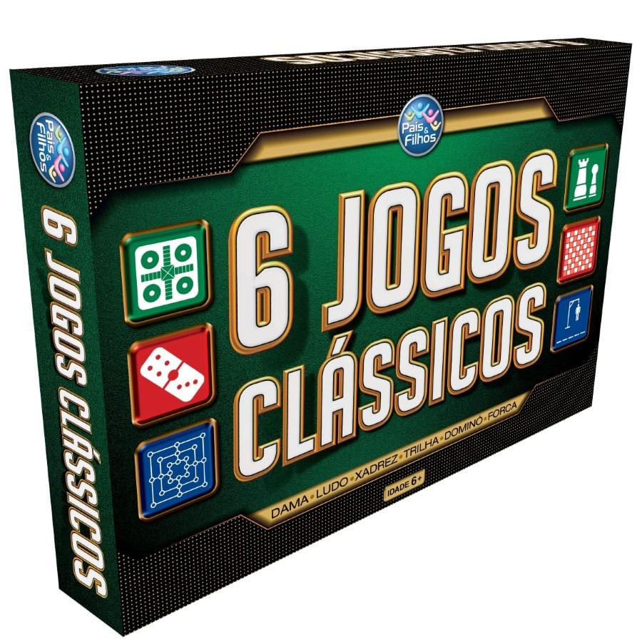 Jogo 6 Jogos Classicos Pais E Filhos 2759 (217712)