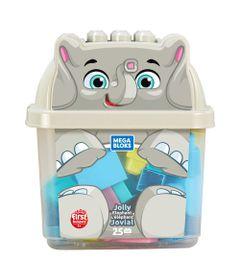 Blocos-de-Montar---Mega-Bloks---Amigo-Elefante---25-Pecas---Fisher-Price