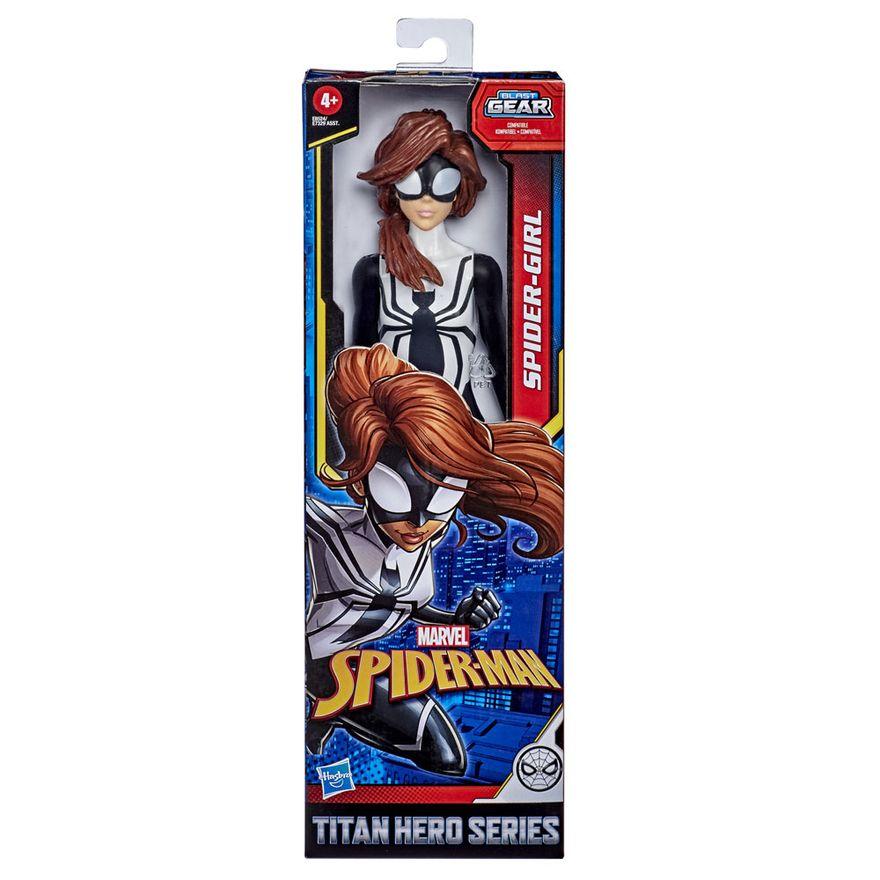 Figura-Articulada---30-Cm---Titan-Heroes---Disney---Marvel---Spider-Man-Warriors---Spider-Girl---Hasbro
