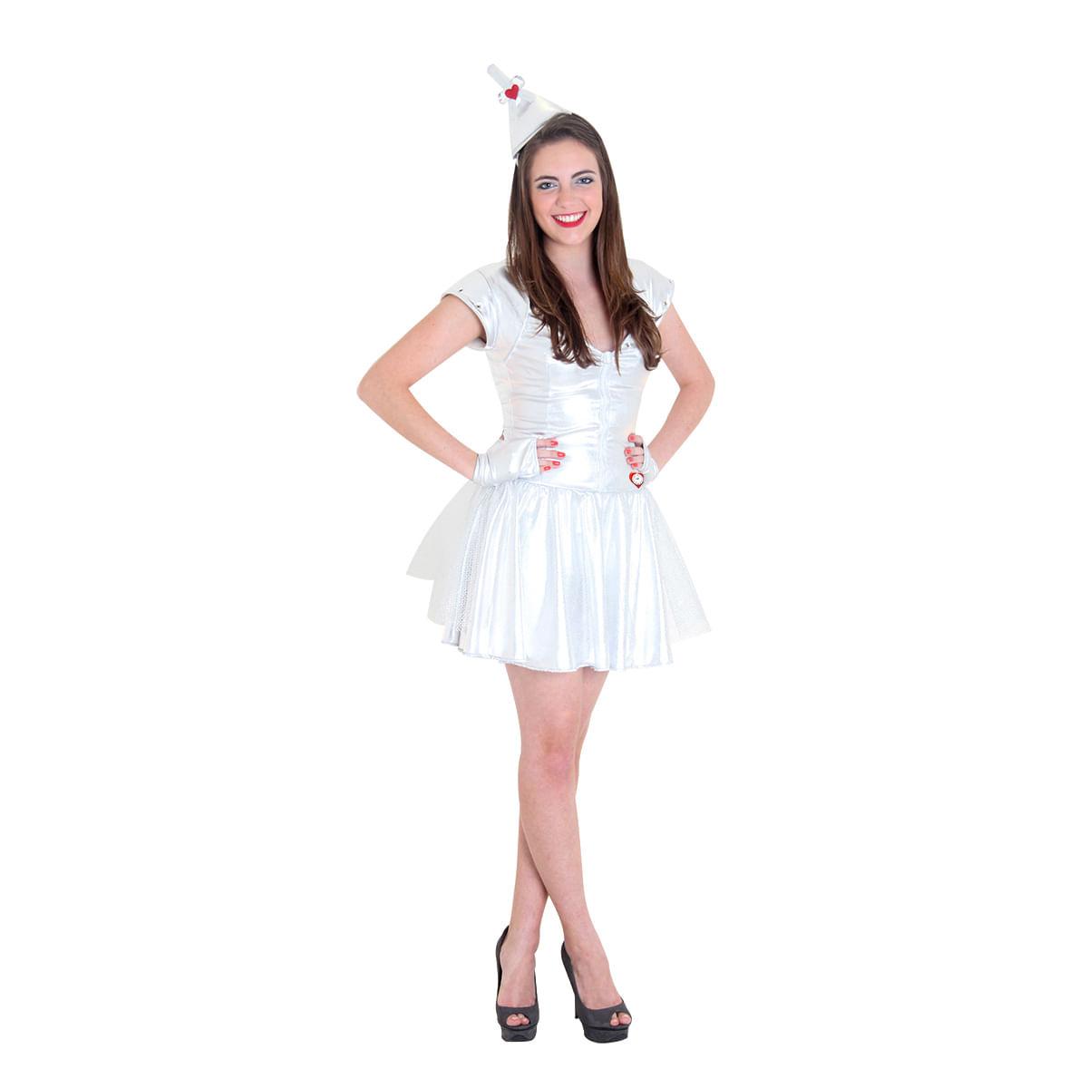 Fantasia Mulher de Lata Teen - Magico de Oz