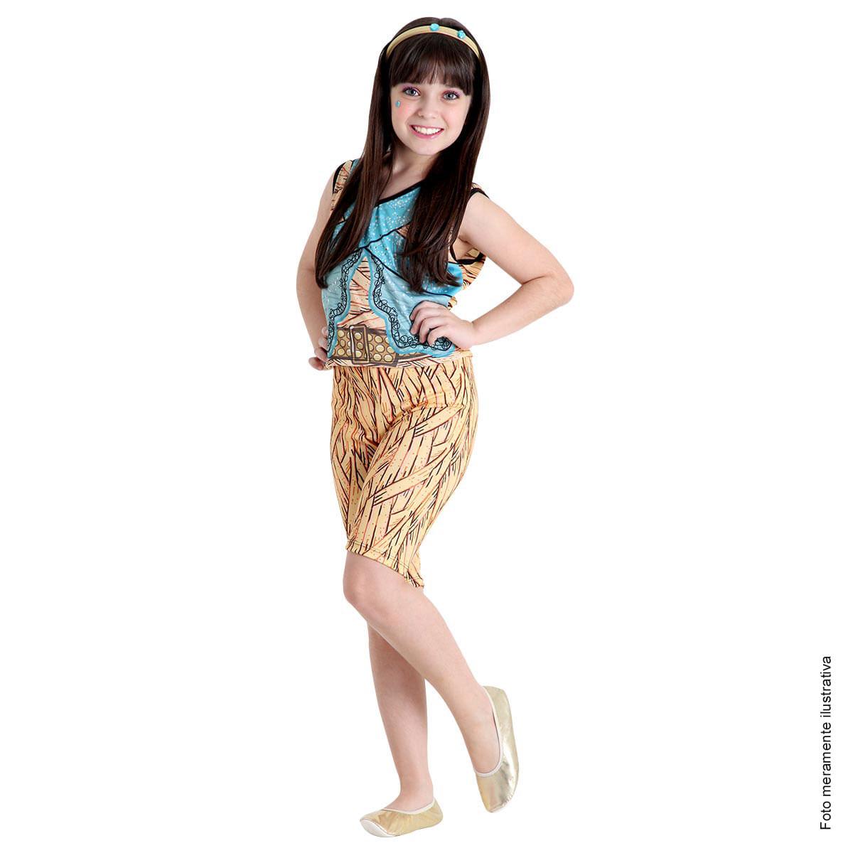 Fantasia Cleo de Nile Infantil Pop - Monster High