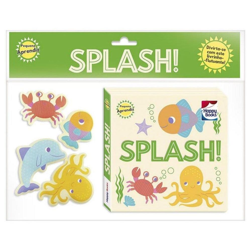 Livro de Banho - Pequeno Aprendiz - Folia no Banho! Splash! - Happy Books Br