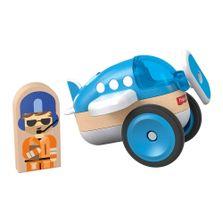 Mini-Veiculo-e-Figura---Wonder-Makers---Airplane---Fisher-Price