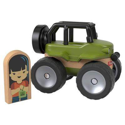 Mini-Veiculo-e-Figura---Wonder-Makers---Off-Road-4x4---Fisher-Price