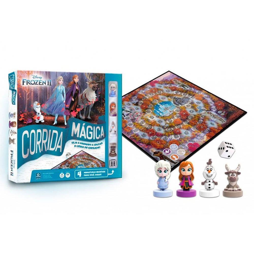 Jogo - Corrida Mágica - Frozen 2 - Copag