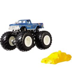 Veiculo-Die-Cast---Hot-Wheels---1-64---Monster-Trucks---Big-Foot---Mattel