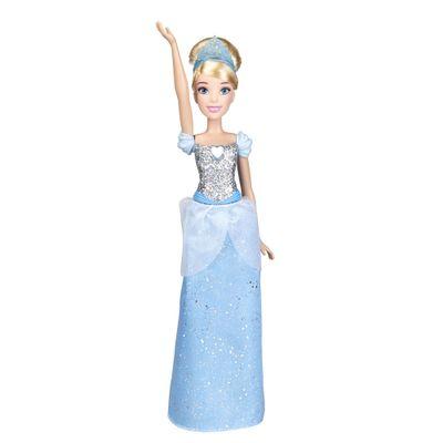 Boneca-Articulada---Princesas-Disney---Cinderela---Brilho-Real---Figura-Classica---Hasbro