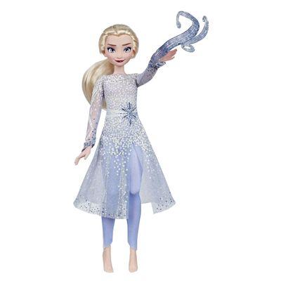 Boneca-Articulada---Princesas-Disney---Frozen-2---Elsa---Descoberta-Magica---Hasbro
