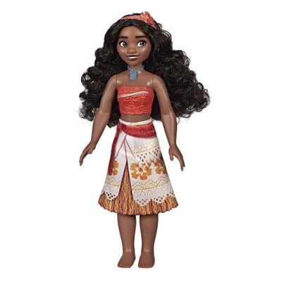 Boneca-Articulada---Princesas-Disney---Moana---Brilho-Real---Figura-Classica---Hasbro