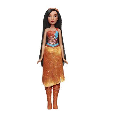 Boneca-Articulada---Princesas-Disney---Pocahontas---Brilho-Real---Figura-Classica---Hasbro