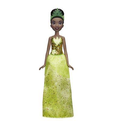 Boneca-Articulada---Princesas-Disney---Tiana---Brilho-Real---Figura-Classica---Hasbro
