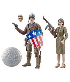 Boneco-Articulado-15-Cm---Marvel-80-Anos---O-Primeiro-Vingador---Capitao-America-e-Peggy-Carter---Hasbro