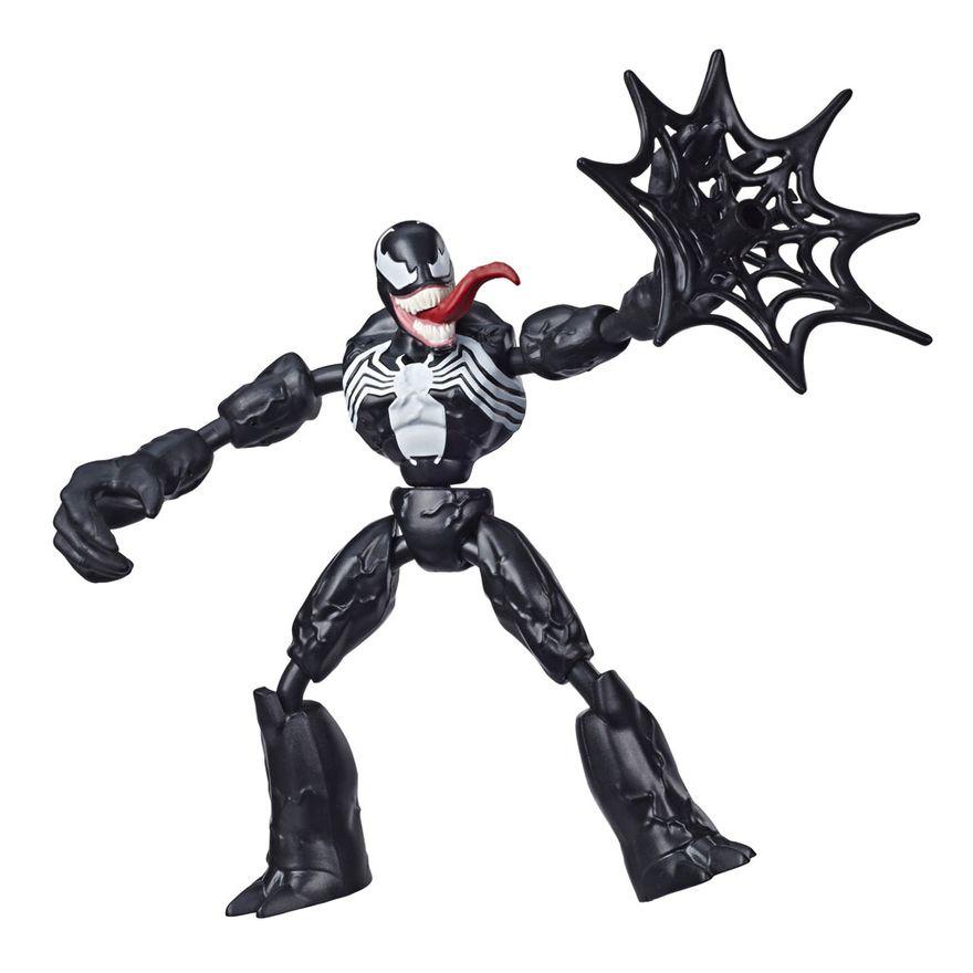 Boneco-Articulado---Marvel---Homem-Aranha---Venon---Bend-and-Flex---Hasbro