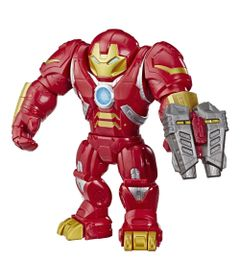 Figura-Articulada-30-Cm---Marvel---Mega-Mighties---Super-Hero-Adventures---Homem-de-Ferro---Hulkbuster---Hasbro
