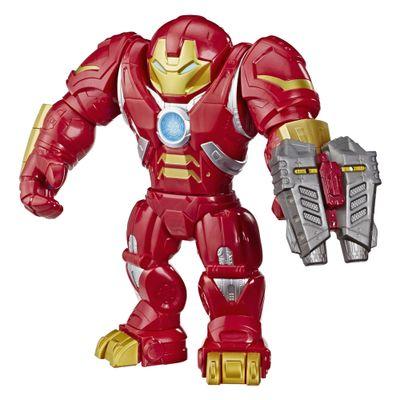 Figura-Articulada-30-Cm---Marvel---Mega-Mighties---Super-Hero-Adventures---Homem-de-Ferro---Hulkbuster---Hasbro
