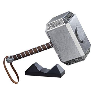 Martelo-Eletronico---Marvel---Legends-Serie---Thor---Mjolnir---Luzes-e-Sons---Hasbro