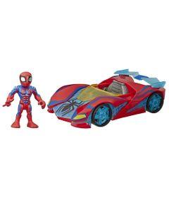 Mini-Boneco-e-Veiculo-12-Cm---Marvel---Super-Hero-Adventure---Homem-Aranha---Carro-Aranha---Hasbro