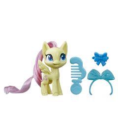 Mini-Figura-com-Acessorios---My-Little-Pony---Fluttershy---Pocao-de-Estilo-4---Amarelo---Hasbro