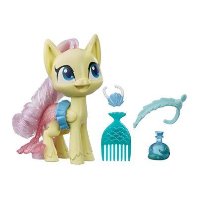 Mini-Figura-com-Acessorios---My-Little-Pony---Fluttershy---Pocao-de-Estilo-5---Amarelo---Hasbro