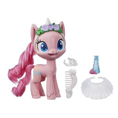 Mini-Figura-com-Acessorios---My-Little-Pony---Pinkie-Pie---Pocao-de-Estilo-5---Rosa---Hasbro