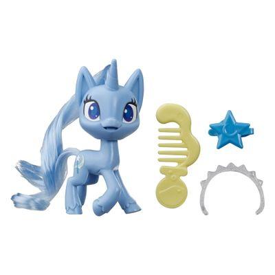 Mini-Figura-com-Acessorios---My-Little-Pony---Trixie-Lulamoon---Pocao-de-Estilo-4---Azul---Hasbro