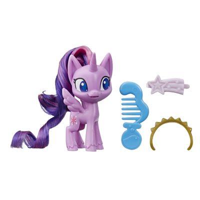 Mini-Figura-com-Acessorios---My-Little-Pony---Twilight-Sparkle---Pocao-de-Estilo-4---Violeta---Hasbro