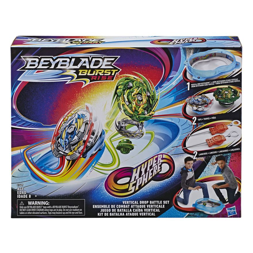 Arena-de-Batalha-e-Lancadores-Beyblade---Beyblade---Burst-Rise---Hyper-Sphere---Hasbro