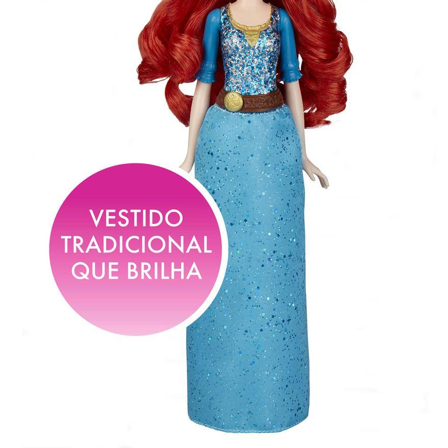 Boneca-Articulada---Princesas-Disney---Merida---Brilho-Real---Cabelo-Divertido---Hasbro