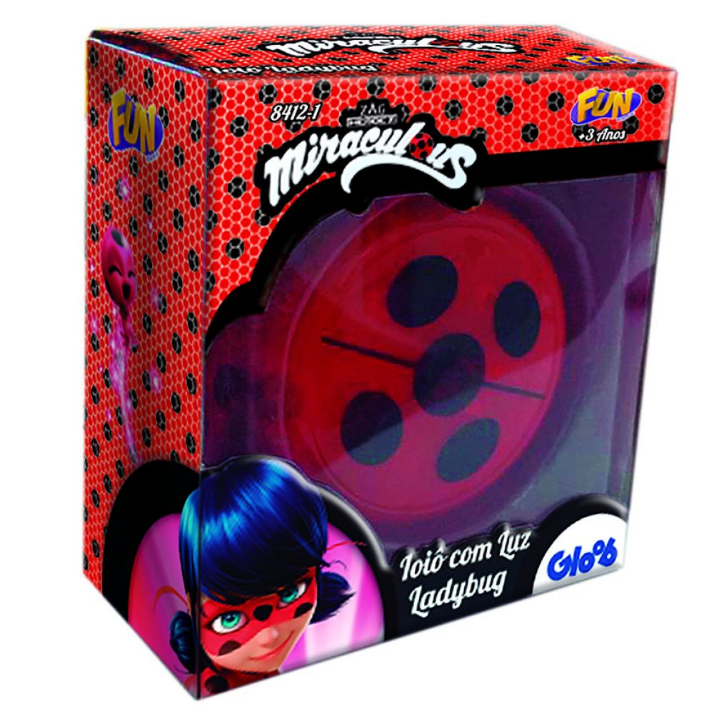 Ioiô com Luz Ladybug - Fun Divirta-se