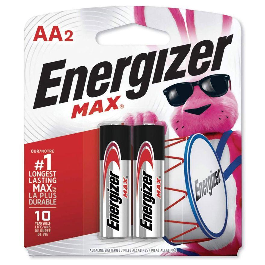 Pilhas-Alcalinas---LR6-Pequena---AA---Cartela-com-2-Unidades---Energizer-Max