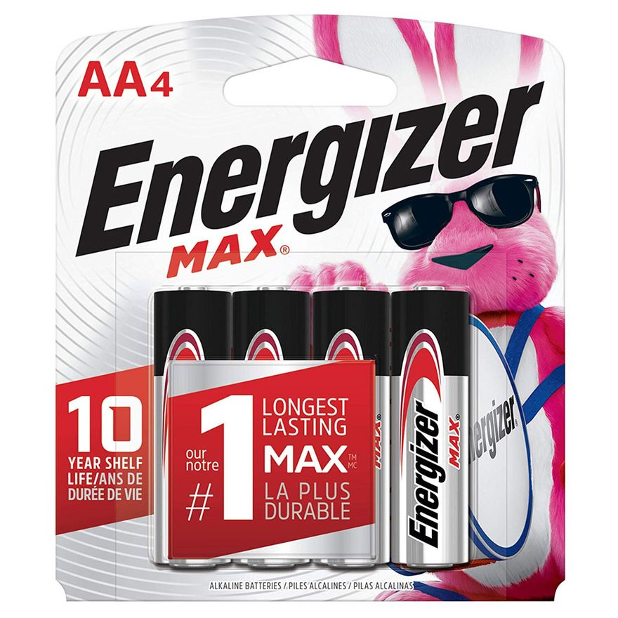 Pilhas-Alcalinas---LR6-Pequena---AA---Cartela-com-4-Unidades---Energizer-Max
