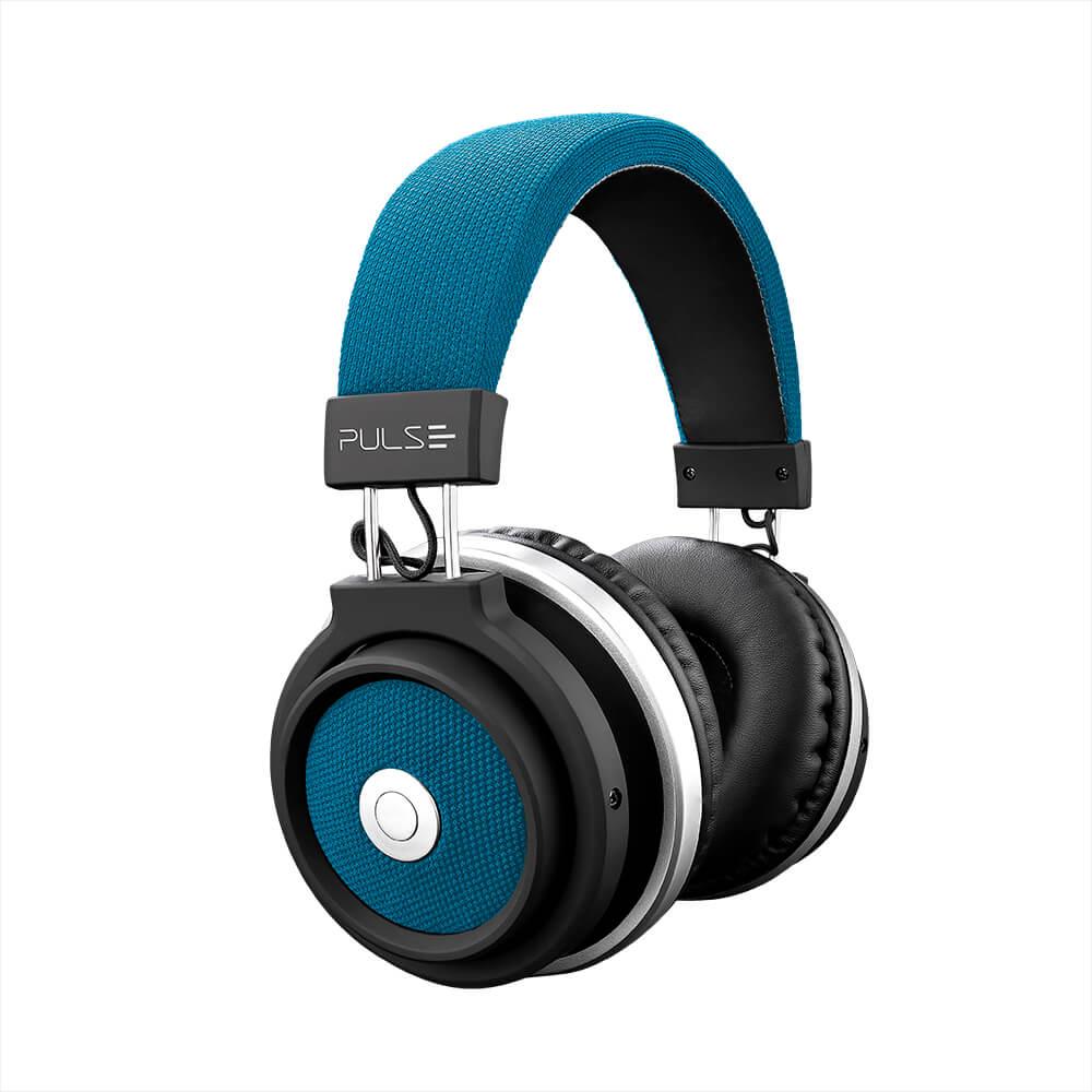 Fone De Ouvido Bluetooth Large Azul Pulse - PH232