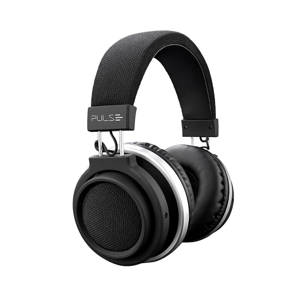 Fone De Ouvido Bluetooth Large Preto Pulse - PH230
