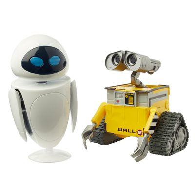 Figura-de-Acao-28-Cm---Disney---Pixar---Monstros-S.A.---Wall-e-Eve---Mattel