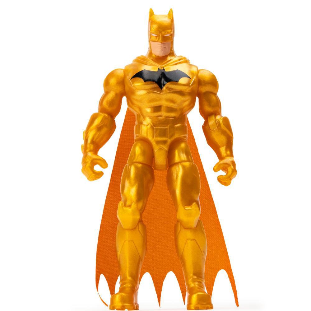 Mini Figura Articulada com Acessórios Surpresa - 9 Cm - DC Comics - Defender Batman - Sunny