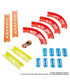 Pista-de-Percurso-e-Veiculo---Hot-Wheels---Track-Builder---Conjunto-de-Curvas-Premium---Mattel