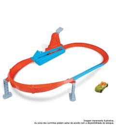 Pista-e-Veiculo---Hot-Wheels---Action---Campeao-Pista-Rapida---Mattel