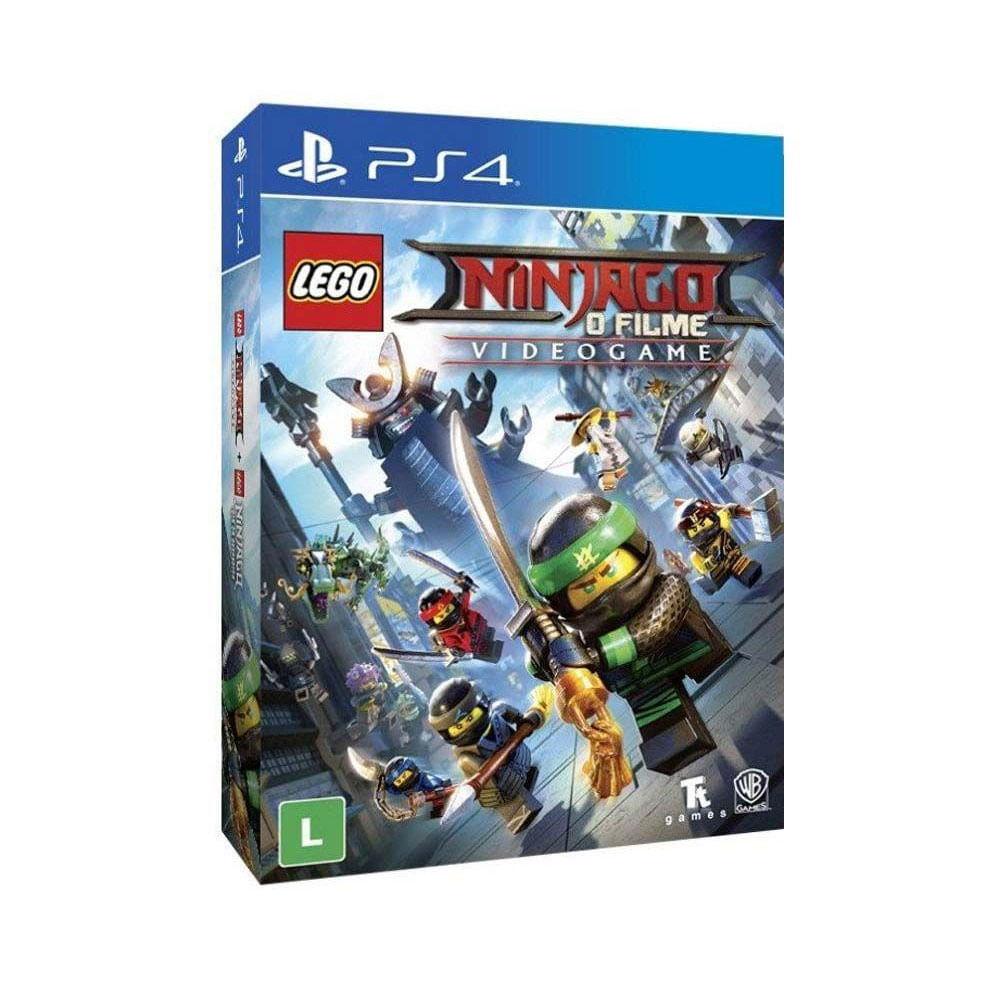 Jogo Playstation 4 - Blu-Ray - Lego Nijango