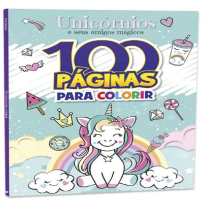 livro-infantil-100-paginas-para-colorir-unicornios-e-amigos-bandeirante_frente