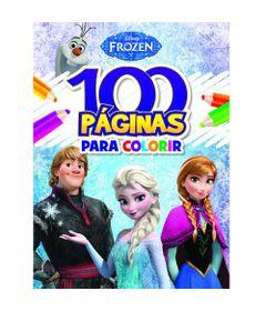 livro-infantil-disney-frozen-colecao-100-paginas-para-colorir-bandeirante_frente