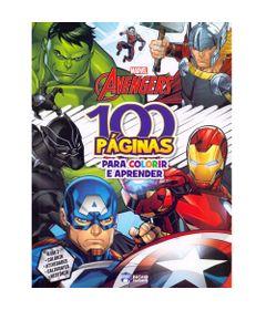 livro-infantil-disney-marvel-vingadores-100-paginas-para-colorir-bandeirante_frente