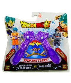 arena-de-batalha-dragon-ball-super-blue-goku-e-goku-black-brinquedos-chocolate_frente