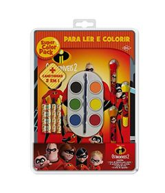 Livro-de-Colorir---Super-Color-Pack---Disney---Os-Incriveis-2---DCL-Editora