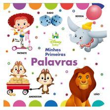 Livro-Infantil---Disney-Baby---Minhas-Primeira-Palavras---DCL--Editora