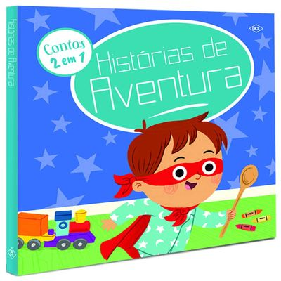 Livro-Infantil---Historias-de-Aventura---Contos-2-em-1---DCL-Editora