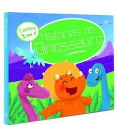 Livro-Infantil---Historias-de-Dinossauros---Contos-2-em-1---DCL-Editora