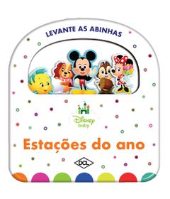 Livro-Infantil---Levante-as-Abinhas---Disney-Baby---Estacoes-do-Ano---DCL-Editora