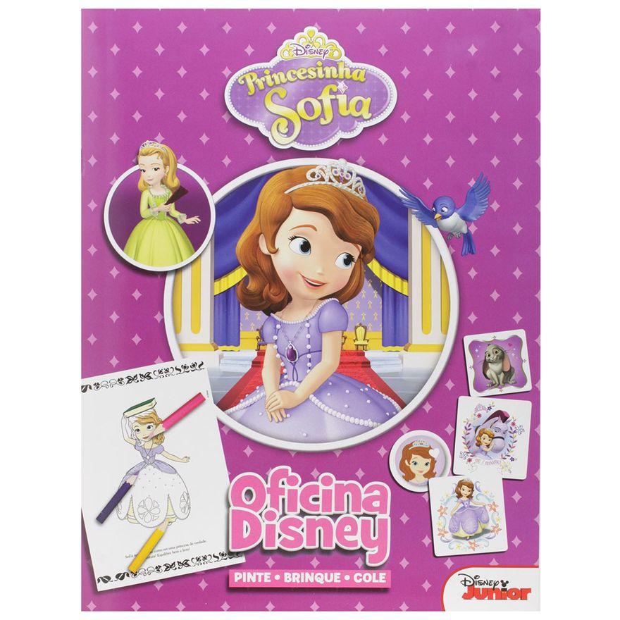 Livro-Infantil---Oficina-Disney---Princesinha-Sofia---DCL-Editora