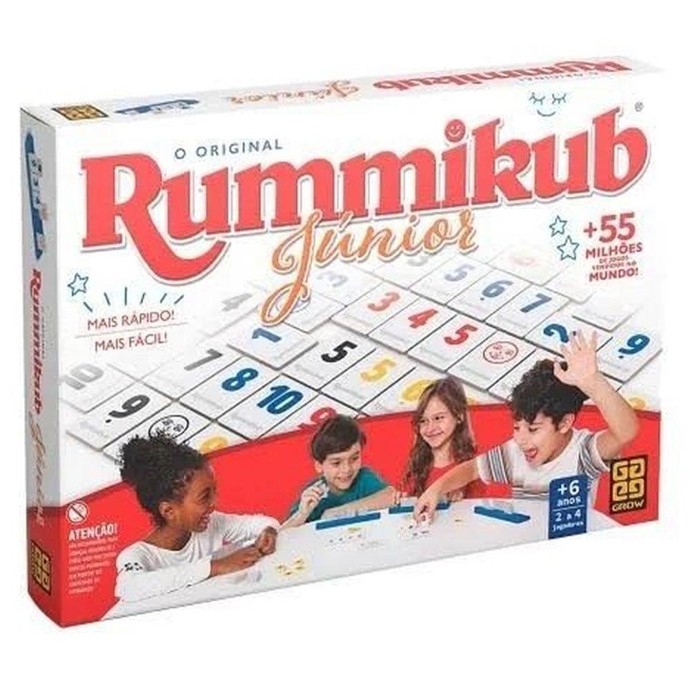Jogo de Estratégia - Rummikub - Júnior - Grow